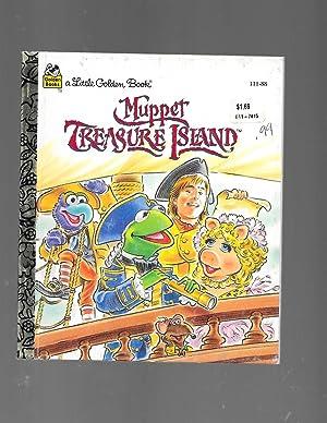 Muppet Treasure Island (Little Golden Book): Ellen Weiss; Tom