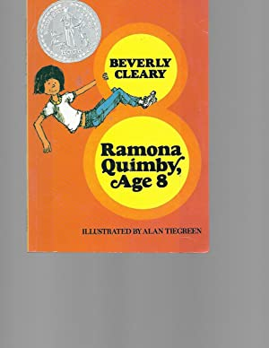 Library Book Grade 3 Ramona Quimby,Age 8: Beverly Cleary