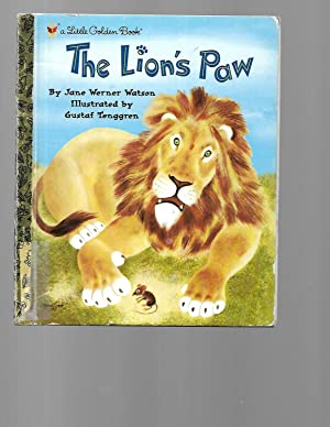 The Lion's Paw (Little Golden Book): Jane Werner Watson