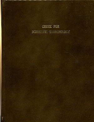 Greek for Scientific Terminology