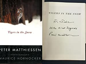 Tigers in the Snow: Matthiessen, Peter