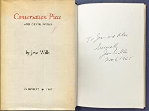 Conversation piece,: And other poems,: Wills, Jesse