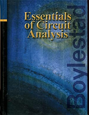 Essentials of Circuit Analysis: Boylestad, Robert L.