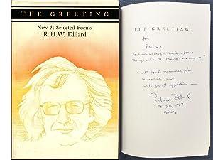 The greeting: New & selected poems (University of Utah Press poetry series): Dillard, R. H. W