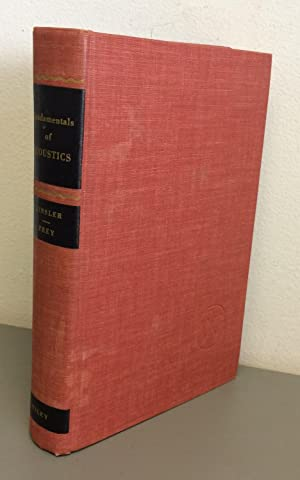 Fundamentals of Acoustics, First Edition by Lawrence: Frey, Lawrence E.