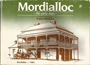 Mordialloc - the early days, a brief history
