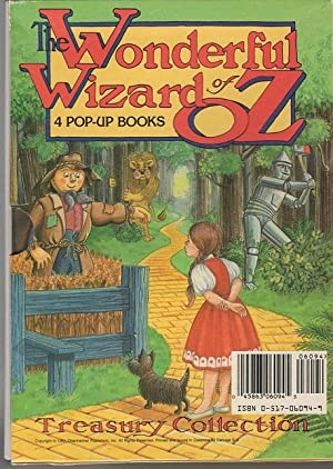 The Wonderful Wizard of Oz Treasury Collection Pop-Up Set (4 Books) the Yellow Brick Road, ...