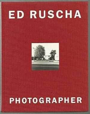Ed Ruscha, Photographer--Signed: Rowell, Margit