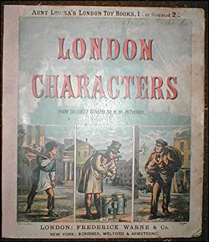 London characters, from coloured designs by H. W. Petherick. 'Aunt Louisa's London Toy Books: 55.'