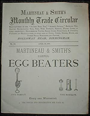 Monthly Trade Circular . No. 40. April 30, 1877.