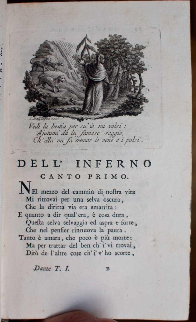 [Divina Commedia].: Dante Alighieri; Andrea Rubbi.