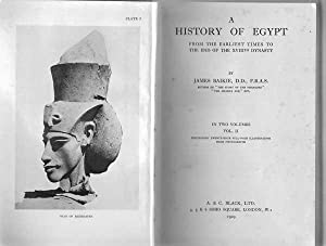 A history of Egypt from the earliest: Baikie, James.