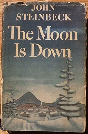 The moon is down.