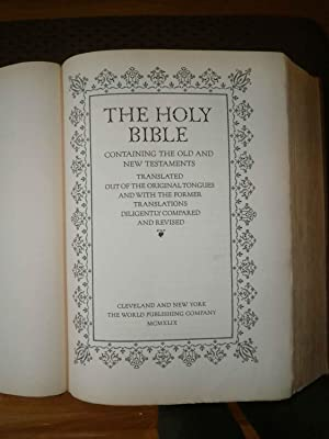 King James Bible Hardcover Abebooks