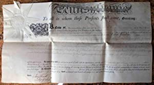 America's first millionaire buys up a tract of land for future development. Partially printed doc...