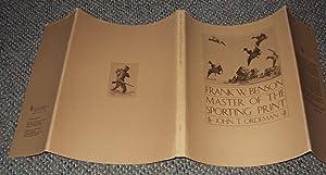 Frank W. Benson, master of the sporting print: Ordeman, John T