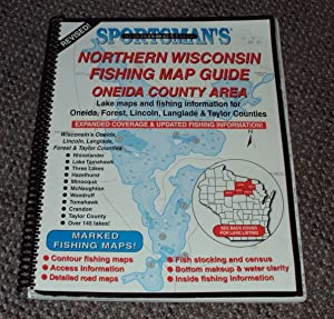 Northern Wisconsin Fishing Map Guide - Oneida: Sportsman's Connection
