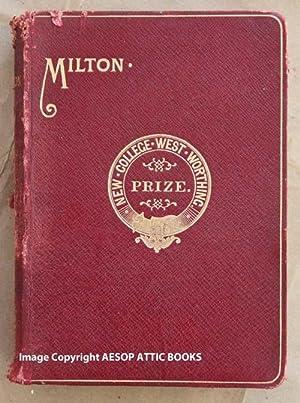 THE POETICAL WORKS OF JOHN MILTON with: Milton, John