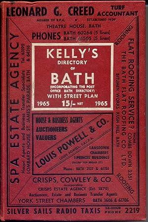 Kelly's Directory of Bath, 1965