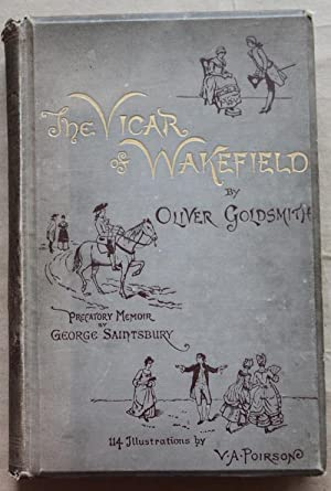 THE VICAR OF WAKEFIELD : With Prefatory Memoir By George Saintsbury and One Hundred and Fourteen ...