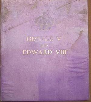 George V and Edward VIII, a Royal: Salusbury, E.G.H.