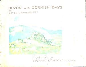Devon and Cornish Days: E. P. Leigh-Bennett