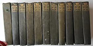 The Works of Byron: With His Letters and Journals and His Life. Part set of Eleven Volumes