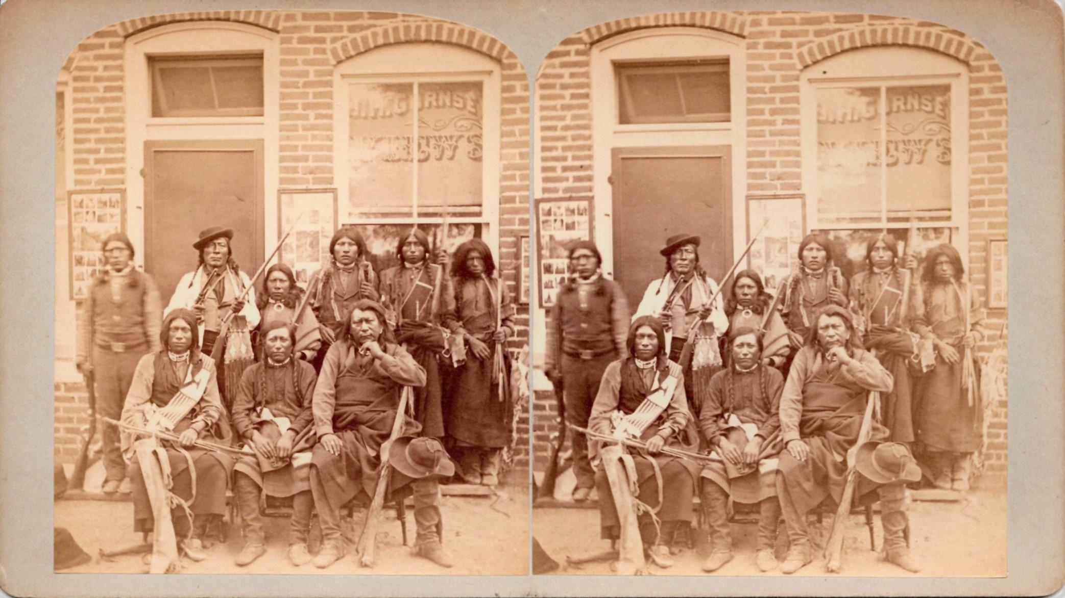 STEREOVIEW_GURNSEYS_ROCKY_MOUNTAIN_VIEWS_UTE_INDIANS_Gurnsey_Byron_H___Softcover