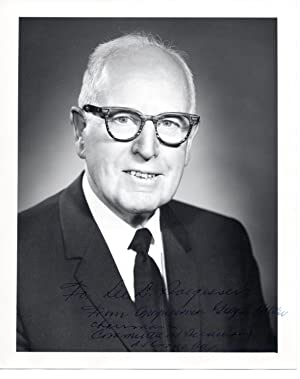 SIGNED PHOTOGRAPH OF CONGRESSMAN GEORGE P. MILLER