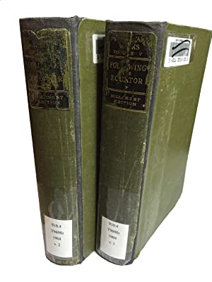 Following the Equator a Journey Around the World (Two Volumes): Mark Twain (Samuel Clemens)