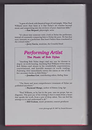 Performing Artist: The Music of Bob Dylan: Williams, Paul