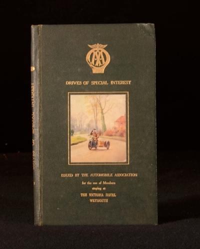 Drives of Special Inetrest The Automobile Association Very Good Hardcover A local interest book on various drives in the UK. Including:Drives From Weymouth, Drives From Lyme Regis, Drives From Yeovil etc. Issued by The Autom