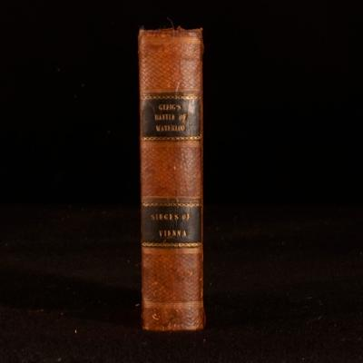 Story of the Battle of Waterloo the Turks Very Good Hardcover