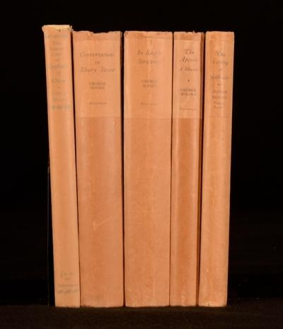 Selected works of George Moore George Moore Very Good Hardcover A five volume set of the works of George Moore. All volumes limited edition and signed by the author. Volumes are:The Pastoral Loves of Daphnis & Chlo