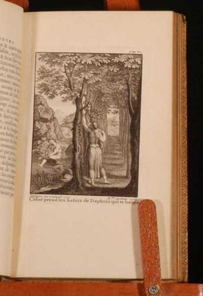 Les Amours pastorales de Daphnis et Chlo? Longus Very Good Hardcover The scarce 'Regent' edition of Daphnis et Chlo, with illustrations from Benoit Audran and Philippe Charles d'Orlans. Bound in the original leather wit
