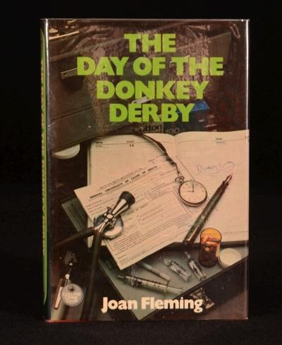 The Day of the Donkey Derby Very Good Hardcover A fascinating first edition publication of 'The Day of the Donkey Derby' by Joan Fleming (March 1908 - November 1980), a British writer of crime and t