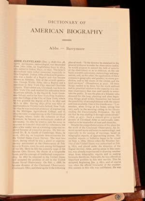 Dictionary of American Biography: Allen Johnson