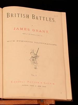 British Battles on Land and Sea: James Grant