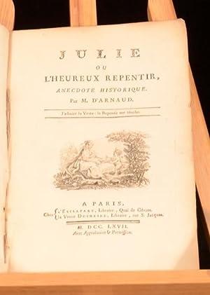 Julie ou L'Heureux Repentir: M. D'Arnaud