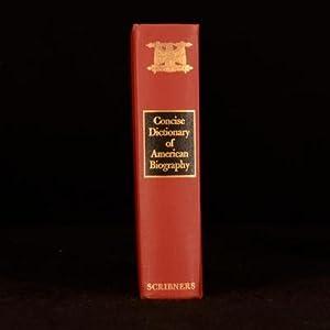 Concise Dictionary of American Biography: Joseph G. E.
