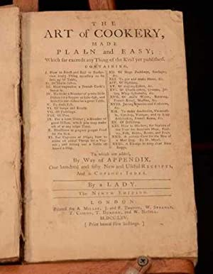 The Art of Cookery: A Lady (Hannah