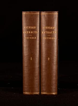 Literary Extracts From English and Other Works: John Poynder