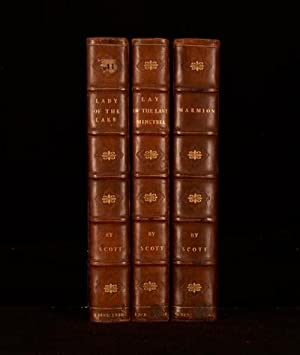 The Lay of Last Minstrel, Marmion: A: Sir Walter Scott