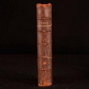 Lyra Elegantiarum: Deceased English Authors