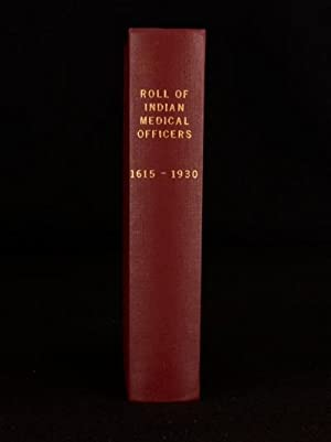 roll of the indian medical service 1615 1930 volume 2 crawford d g