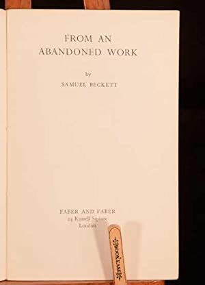 From and Abandoned Work: Samuel Beckett