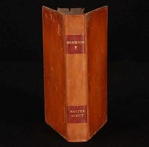 Marmion; A Tale of Flodden Fields: Walter Scott Esq.