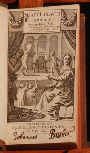 M. Acci Plauti Comoediae: Joannes Fredericus Gronovius