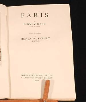 Paris: Sidney Dark