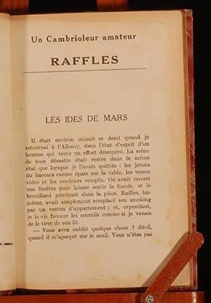 Un Cambrioleur amateur: Raffles: Ernest William Hornung